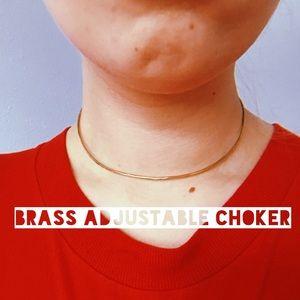 Essie Day Brass Choker - Artisan - Adjustable